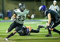 Sam Franklin (23) of  Little Rock Central against Fayetteville at Harmon Stadium, Fayetteville, Arkansas on Friday, November 13, 2020 / Special to NWA Democrat-Gazette/ David Beach