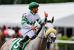 Winter Memories, with jockey Javier Castellano up, wins The Diana on Jim Dandy Day at Saratoga Race Course in Saratoga Springs, New York on July 28, 2012