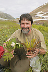 Bruce Bennett Showing Collected Plants