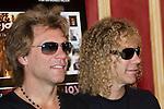 MADRID (04/06/2010).- Bon Jovi Photocall before tonight's concert at Rock in Rio Madrid. Pictured (L to R)  Jon Bon Jovi, and David Bryan (David Rashbaum)...PHOTO: Cesar Cebolla / ALFAQUI