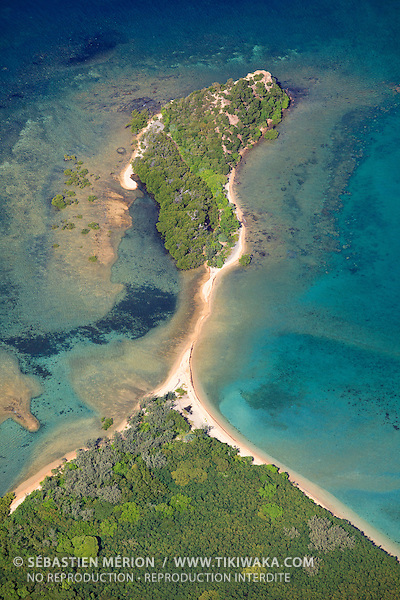 Ile Bailly, au large de la commune du Mont-Dore, Nouvelle-Calédonie