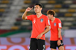 Ji Dongwon of South Korea gestures during the AFC Asian Cup UAE 2019 Quarter Finals match between Qatar (QAT) and South Korea (KOR) at Zayed Sports City Stadium  on 25 January 2019 in Abu Dhabi, United Arab Emirates. Photo by Marcio Rodrigo Machado / Power Sport Images