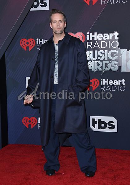 11 March 2018 - Inglewood, California - Justin Tranter. 2018 iHeart Radio Awards held at The Forum. Photo Credit: Birdie Thompson/AdMedia