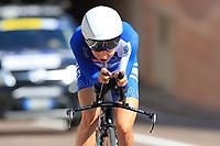9th September 2021; Trento, Trentino–Alto Adige, Italy: 2021 UEC Road European Cycling Championships, Womens Individual time trials:  SHAPIRA Omer (ISR)