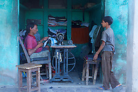 The Tailor - Traditional village life in Narhet, Rajasthan, India