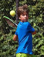 Hilversum, Netherlands, August 8, 2016, National Junior Championships, NJK, Luka Novakovic (NED)<br /> Photo: Tennisimages/Henk Koster