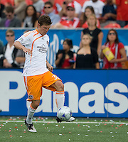 18 July 2009: Houston Dynamo defender Bobby Boswell #32 in action during a game between the Toronto FC and Houston Dynamo..The game ended in a 1-1 draw..
