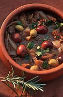 Europe/Chypre/Limassol: Sauté de boeuf aux olives