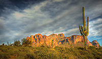 Lost Dutchman Sunset - Arizona