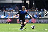 SAN JOSE, CA - JUNE 8: Chris Wondolowski #8 during a game between FC Dallas and San Jose Earthquakes at Avaya Stadium on June 8, 2019 in San Jose, California.