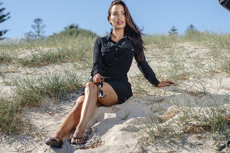 Ipanema Thongs, Lucinda Nicholas at Grange Beach