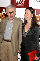 Woody Allen and Soon-Yi at Film Independent's 2012 Los Angeles Film Festival Premiere of 'To Rome With Love' at Regal Cinemas L.A. LIVE Stadium 14 on June 14, 2012 in Los Angeles, California. ©mpi21/MediaPunch Inc.