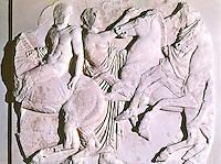 Greek Arts:  Young Horsemen.  Acropolis Museum.