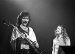 Black Sabbath 1974 Tony Iommi and Ozzy Osbourne.© Chris Walter.