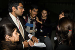 The Indian Youth Delegation prepars for their meeting with Executive Secretary Yvo De Boer. UNFCCC COP 14 (©Robert vanWaarden ALL RIGHTS RESERVED)