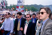 Roberto Maroni, Umberto Bossi, Pontida 1996
