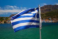 Greek Flag on Kastellorizo