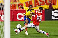 Ecuador vs Chile, August 15, 2012