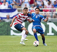 Chris Wondolowski, Victor Turcios Pacheco.  The United States defeated El Salvador, 5-1, during the quarterfinals of the CONCACAF Gold Cup at M&T Bank Stadium in Baltimore, MD.