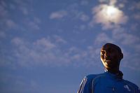 Kenyan marathon runner Wilson Kipsang in Iten, Kenya.