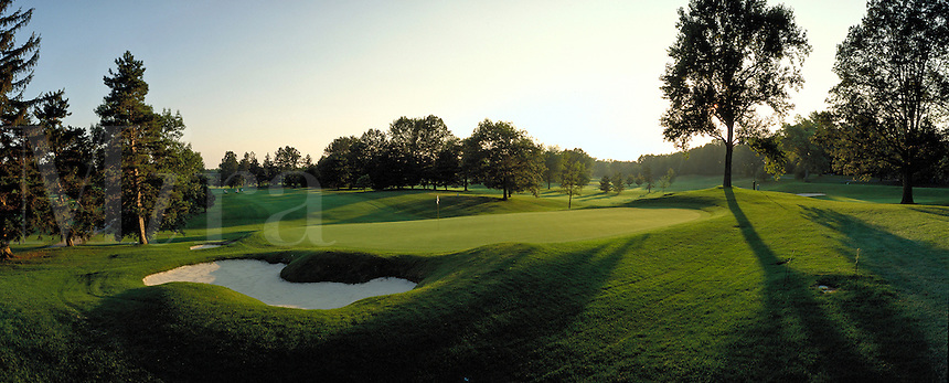 Oak Hill Country Club - hole #18. Rochester New York United States Oak Hill Country Club.