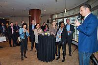 Rotterdam, Netherlands, Februari 01, 2016,  Rotterdam Marriott Hotel, ABNAMROWTT , sponsor meeting<br /> Photo: Tennisimages/Henk Koster