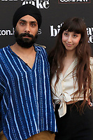 LOS ANGELES - JUN 16:  Jagi Katial, Kayla Marcus at The Birthday Cake LA Premiere at the Fine Arts Theater on June 16, 2021 in Beverly Hills, CA