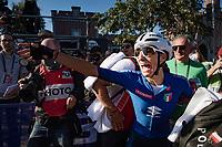Elisa Balsamo (ITA/Valcar) is the new World Champion<br /> <br /> Women Elite - Road Race (WC)<br /> from Antwerp to Leuven (158km)<br /> <br /> UCI Road World Championships - Flanders Belgium 2021<br /> <br /> ©kramon