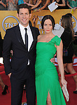 Emily Blunt and John Krasinski at the 18th Screen Actors Guild Awards held at The Shrine Auditorium in Los Angeles, California on January 29,2012                                                                               © 2012 Hollywood Press Agency