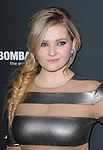 LOS ANGELES, CA - December 16: Abigail Breslin arrives at  The Weinstein Company L.A. Premiere of August : Osage County held at The Premiere House at Regal Cinemas L.A. Live  in Los Angeles, California on December 16,2013                                                                               © 2013 Hollywood Press Agency