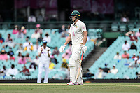 8th January 2021; Sydney Cricket Ground, Sydney, New South Wales, Australia; International Test Cricket, Third Test Day Two, Australia versus India; Cameron Green of Australia takes to the field