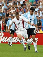 Bobby Convey, Argentina vs. USA, Miami, Fla.