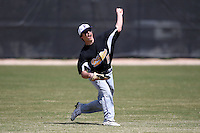 March 15, 2010:  Outfielder Matt Suda of the Fontbonne University Griffins in a game vs. Roger Williams University Hawks at Lake Myrtle Park in Auburndale, FL.  Photo By Mike Janes/Four Seam Images