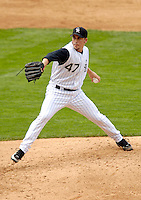 10 September 2006: Justin Hampson, pitcher for the Colorado Rockies, makes his major league debut against the Washington Nationals. The Rockies defeated the Nationals 13-9 at Coors Field in Denver, Colorado...Mandatory Photo Credit: Ed Wolfstein.