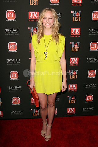WEST HOLLYWOOD, CA - NOVEMBER 12:  Candice Accola at TV Guide Magazine's 2012 Hot List Party at SkyBar at the Mondrian Los Angeles on November 12, 2012 in West Hollywood, California. Credit: mpi21/MediaPunch Inc.