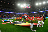 Belgian and Russian team  <br /> Saint Petersbourg  - Qualification Euro 2020 - 16/11/2019 <br /> Russia - Belgium <br /> Foto Photonews/Panoramic/Insidefoto <br /> ITALY ONLY