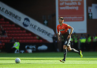 Swansea City's Federico Fernandez during the Sky Bet Championship match between Sheffield United and Swansea City at Bramall Lane, Sheffield, England, UK. Saturday 04 August 2018