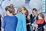 Carla Pereyra and Convocatoria de prensa: Presentación oficial del equipo in`Charhadas' children's fashion show on Madrid . January 28, 2020. (ALTERPHOTOS/Yurena Paniagua)