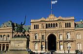 Buenos Aires, Argentina. Casa Rosada Presidential Palace.