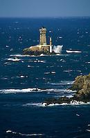 Europe/France/Bretagne/29/Finistère/Pointe du Raz: Phare de la vieille