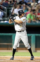 Terry Evans / Salt Lake Bees in a game against the Tucson Sidewinders in Tucson, AZ - 09/01/2008 ..Photo by:  Bill Mitchell/Four Seam Images