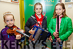 Lixnaw CCE Feile Feabhra: Taking part in the Lixnaw Feile Feabhra at the Cheolan Centre, Lixnaw on Sunday last were Matilda, Daisy & Eliza O'Donnell from Ballydonoghue.