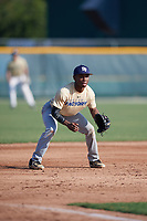 Malik Dixon (58), from Grifton, North Carolina, while playing for the Brewers during the Baseball Factory Pirate City Christmas Camp & Tournament on December 28, 2017 at Pirate City in Bradenton, Florida.  (Mike Janes/Four Seam Images)