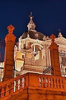 The Almudena Cathedral, Madrid, Spain