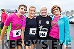 Ann O'Leary (Currow), Eileen Brennan (Castleisland) with George and Joan Glover from Ballymac attending the Kerins O'Rahillys GAA Club 10k/5k race at the clubhouse on Sunday.