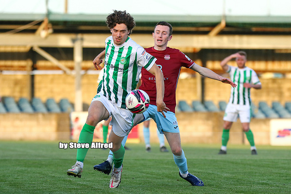 Cobh Ramblers v Bray Wanderers, SSE Airtricity League Division 1, 24/4/21, St. Colman's Park, Cobh.<br /> <br /> Copyright Steve Alfred 2021.
