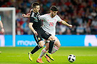 Spain's Marco Asensio (r) and Argentina's Giovani Lo Celso during international friendly match. March 27,2018.(ALTERPHOTOS/Acero) /NortePhoto.com NORTEPHOTOMEXICO