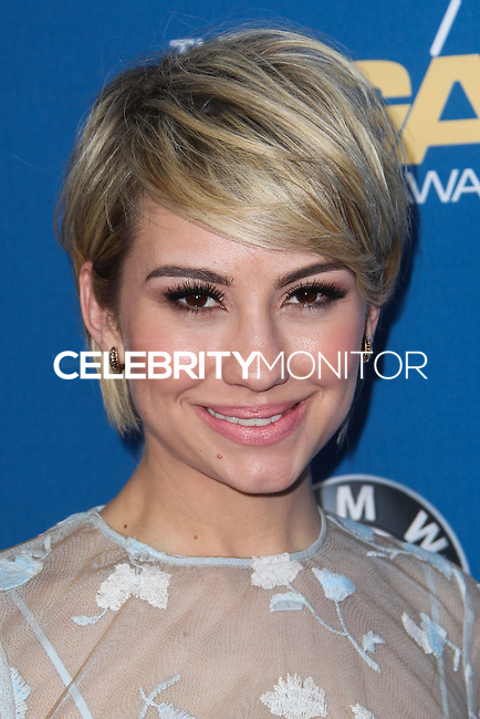 CENTURY CITY, CA - JANUARY 25: Chelsea Kane at the 66th Annual Directors Guild Of America Awards held at the Hyatt Regency Century Plaza on January 25, 2014 in Century City, California. (Photo by Xavier Collin/Celebrity Monitor)