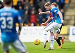 St Johnstone v Kilmarnock…24.11.18…   McDiarmid Park    SPFL<br />Liam Craig's shot is saved by Daniel Bachmann<br />Picture by Graeme Hart. <br />Copyright Perthshire Picture Agency<br />Tel: 01738 623350  Mobile: 07990 594431