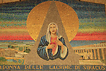 Israel, Lower Galilee, a mosaic at the Church of the Annunciation in Nazareth
